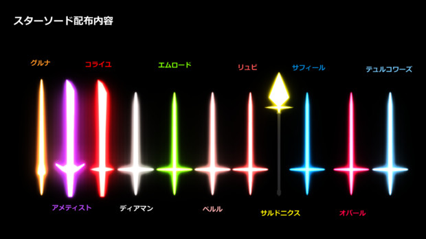 【MMD-OMF4】スターソード