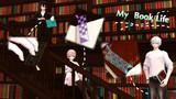 【MMD-OMF4】切り絵風デザイン栞3種セット