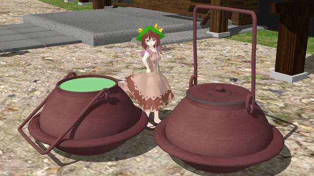 【OMF4】茶釜