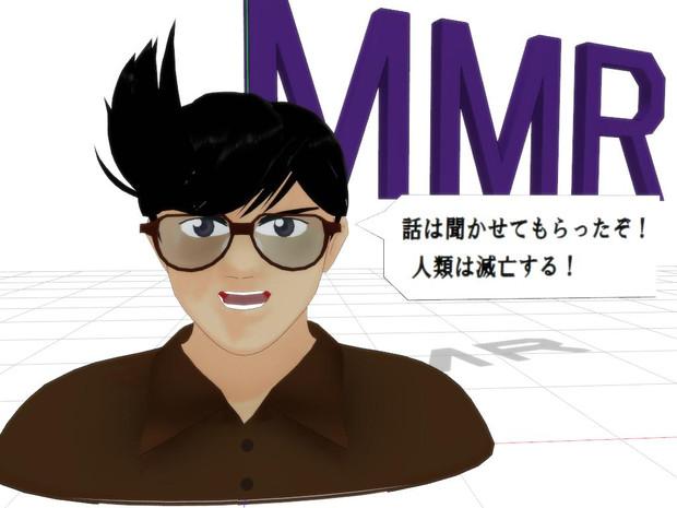 【MMD-OMF4】キ○ヤシ【モデル配布】