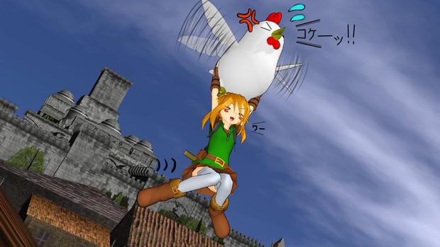 リノちゃんがコッコで空を飛ぶようです