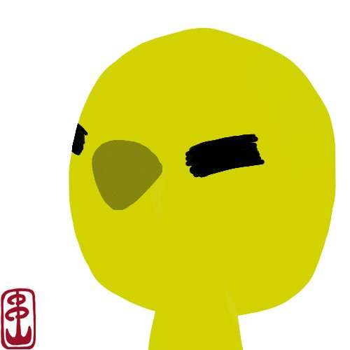 ぽゆわのフリーアイコン(あにき)