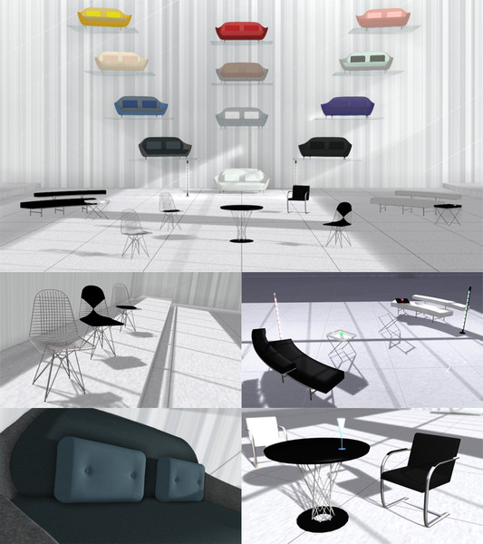 【MMD-OMF4】家具詰め2