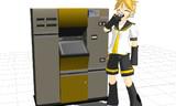 【MMD-OMF4】自動販売機