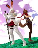 ウサギの騎士とドロボー猫