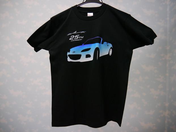 ロードスター 青グラデーションTシャツ
