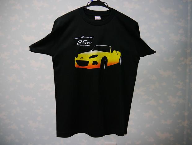 ロードスター 黄色グラデーションTシャツ