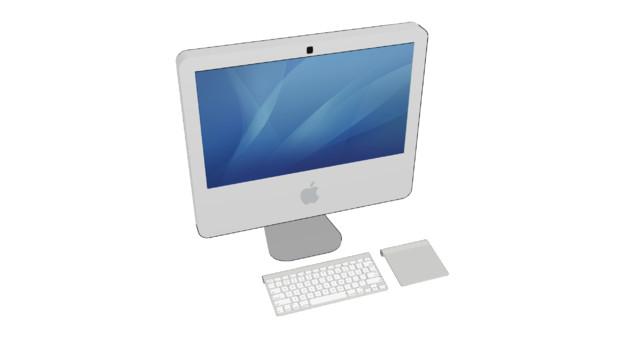 [MMD] 2006年型iMac (ホワイト)