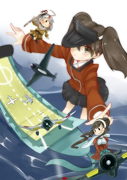 龍驤ちゃんと艦載機
