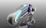 【MMD-OMF4】Honda Chopperっぽいバイクその2