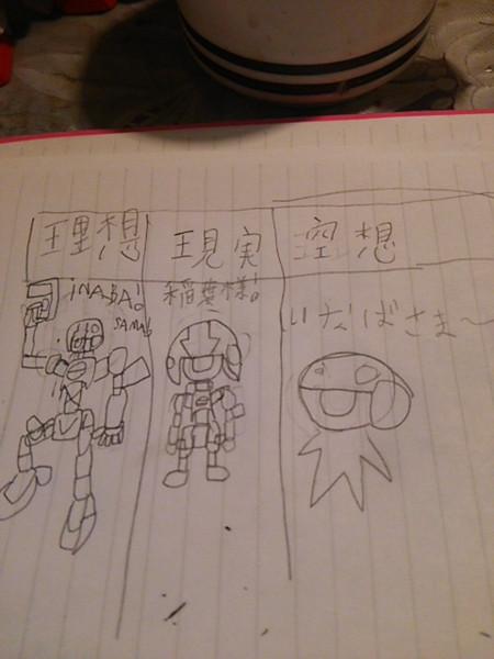 山田の理想と現実と空想