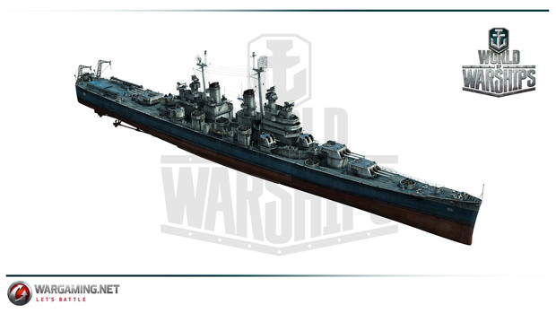 WoWs(CA-68 ボルチモア級)