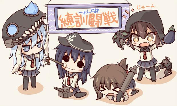 さぁ戦闘訓練よ!もう、そんなんじゃダメよ!