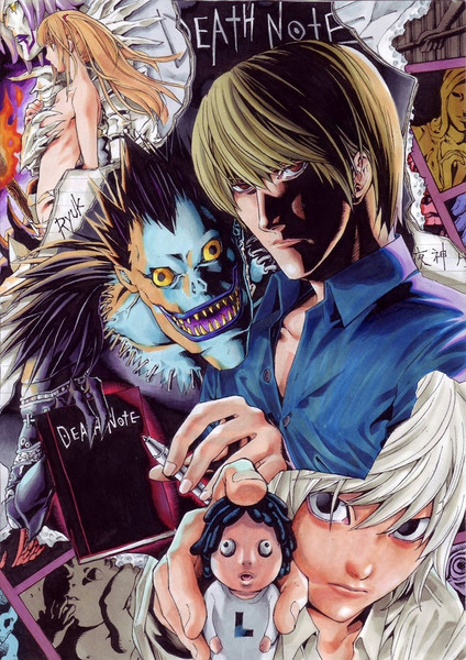 DEATH NOTE A「新世界へ誘いし神と、罪に正義を突きつけし者と」