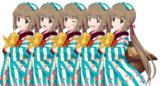 依田芳乃の立ち絵…のような物です