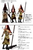 【MMD】三角頭モデル 改造