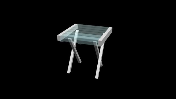 ガラステーブル01