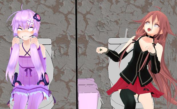 「MMDトイレ選手権」と聞いて・・・①