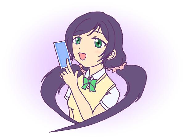 初描きラブライブ(希)