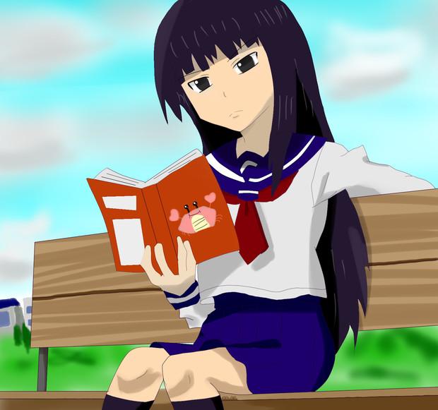 本読む文学少女+かに