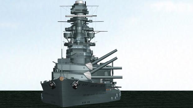 【MMD海軍】戦艦長門をPMD化しました【モデル配布あり】