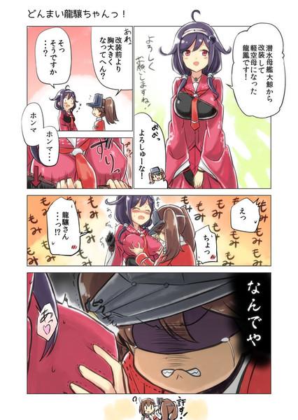 龍鳳の胸と龍驤の胸