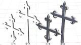 MMD 十字架(フルールタイプ)