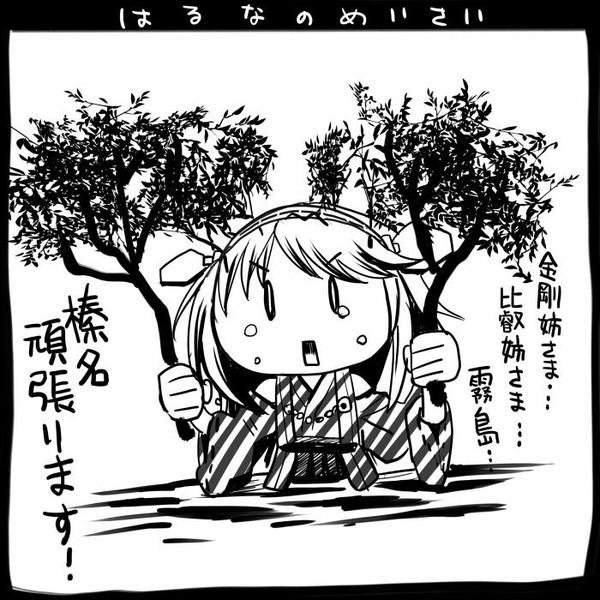【艦これ】榛名の迷彩【史実】