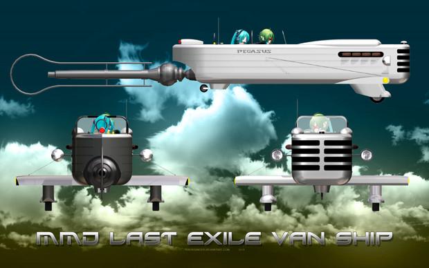 MMD Last Exile style Van Ship