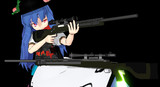 【MMDアクセサリ、モデル配布あり】Winchester M70 DMR