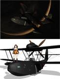 MMDモデル配布 九八式水上偵察機