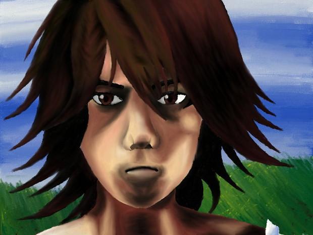 3DSで「運命に抗いし者」描いてみた
