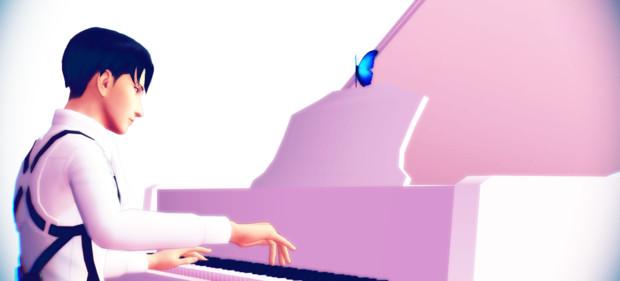 ピアノと蝶と兵長⑤