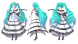 TDA Miku Lace Dress Ver2.0【モデル配布】