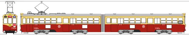 大分交通1100形電車