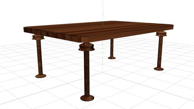 木製テーブル01