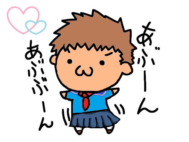 【塗ってみたよ】美少女アブさんヽ(*´∀`)ノ