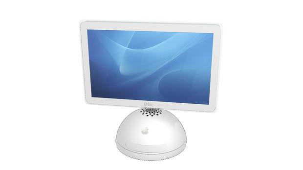 [MMDアクセサリ] iMac G4