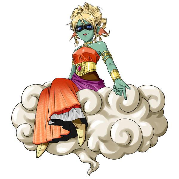 白亜の女帝