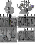 【MMD海軍】巡潜乙型司令室(のようなもの)1.0
