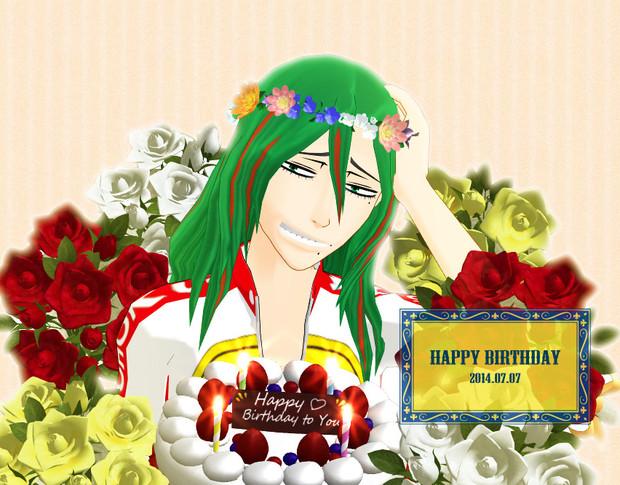 Happy Birthday 巻島さん