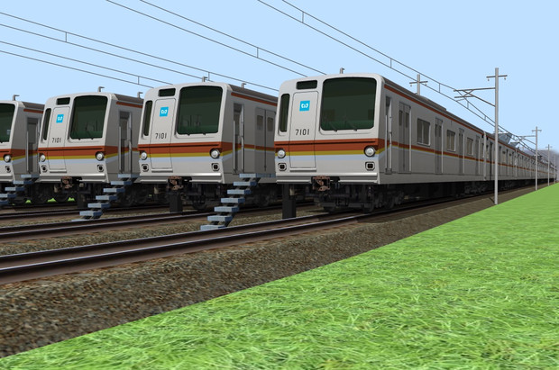 東京メトロ 7000系