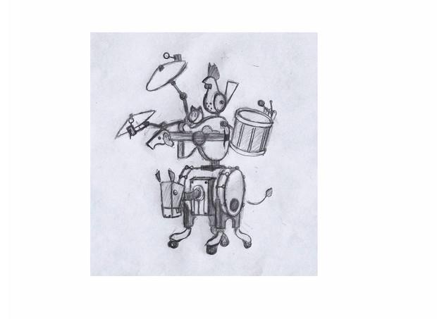 ブレーメンの音楽隊型 ムジカンテンズ