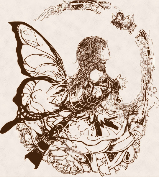 天使と妖精