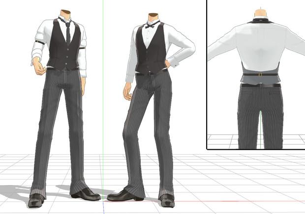 着せ替え用カマーベスト衣装 2種