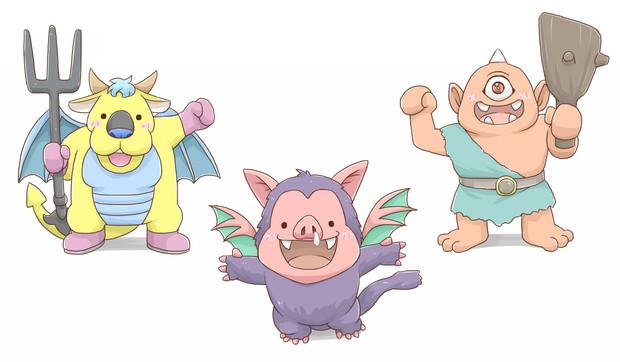 プチ悪霊の神々