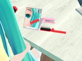 【配布】折りたためるヘアブラシ