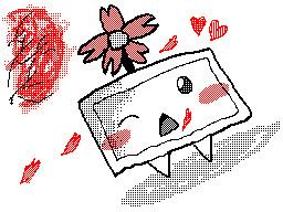 桜の静画ちゃん 描いてみた