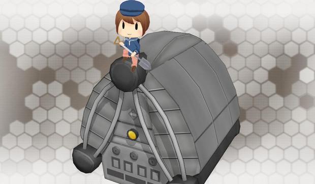 【MMD艦これ】強化型艦本式缶妖精ver1.0