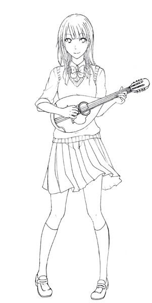 マンドリン系女子 猫乃くれはω さんのイラスト ニコニコ静画